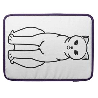 British Shorthair Self Cat Cartoon Sleeve For MacBooks