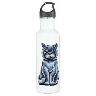 British Shorthair Sit Pretty Water Bottle