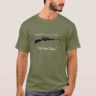 British Sniper Rifle Tee Shirt