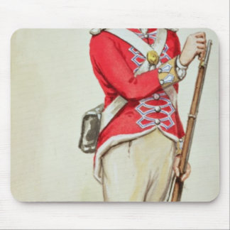 British soldier in Napoleonic times Mouse Pad