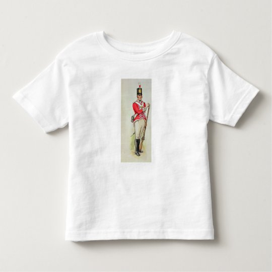 British soldier in Napoleonic times Toddler T-shirt
