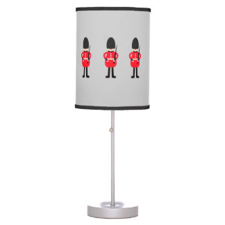 British Soldier Table Lamps