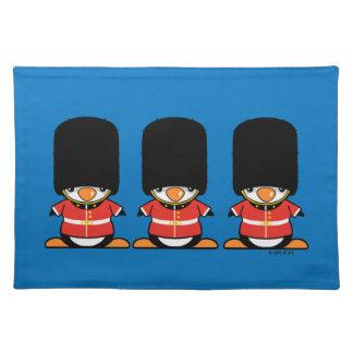 British soldier Penguins Placemat