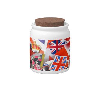 British Souvenirs Candy Jars