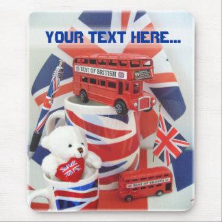 British Souvenirs Mouse Pad