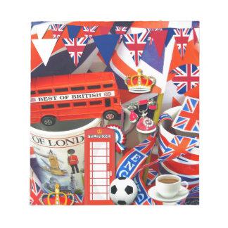 British Souvenirs Memo Pads