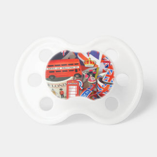British Souvenirs Pacifier