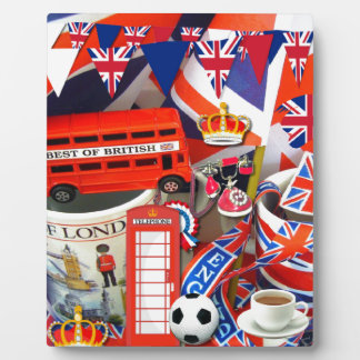 British Souvenirs Display Plaques