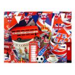 British Souvenirs Post Card