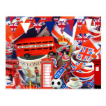 British Souvenirs Postcard