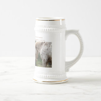 British Spotted Pony, Sika Beer Stein