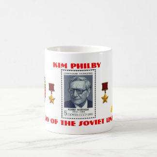 British Spy Kim Philby, Hero of the Soviet Union Coffee Mug