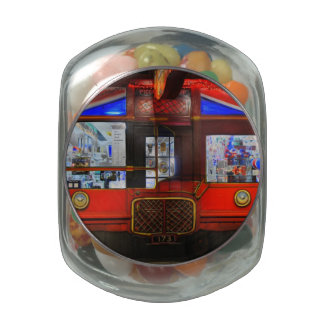 British Storefront Jelly Belly Candy Jars