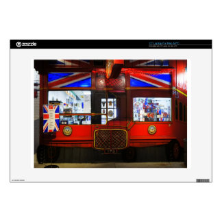 """British Storefront Decals For 15"""" Laptops"""