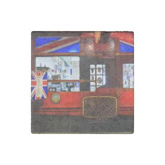 British Storefront Stone Magnet