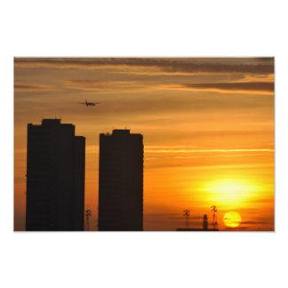 BRITISH SUNSET PHOTOGRAPHIC PRINT