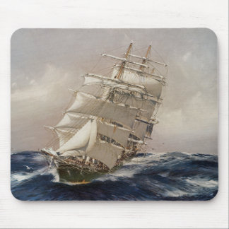 British Tea Clipper Thermopylae Mouse Pad