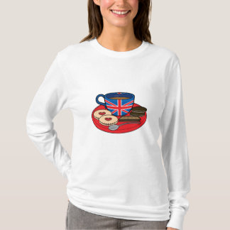 British Tea Time T-Shirt