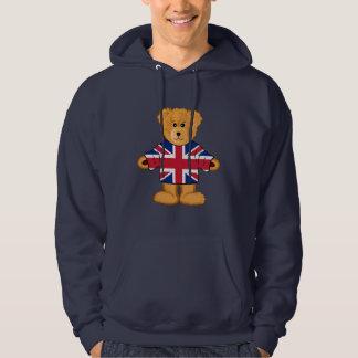 British Teddy Bear Hoodie
