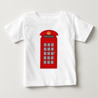 British Telephone Box Baby T-Shirt