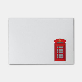 British Telephone Box Post-it Notes
