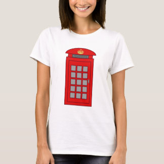 British Telephone Box T-Shirt