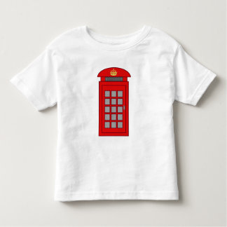 British Telephone Box Toddler T-shirt