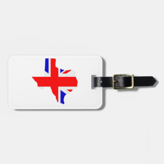 British Texas Luggage Tag