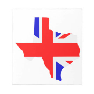 British Texas Notepad