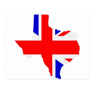 British Texas Postcard