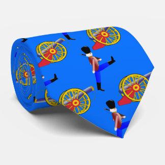 British Toy Soldier patterned Neck Tie
