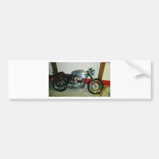 British Triton Motorcycle. Bumper Sticker