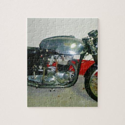 British Triton Motorcycle. Jigsaw Puzzle