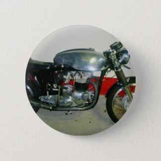 British Triton Motorcycle. Pinback Button