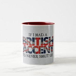 British Two-Tone Coffee Mug