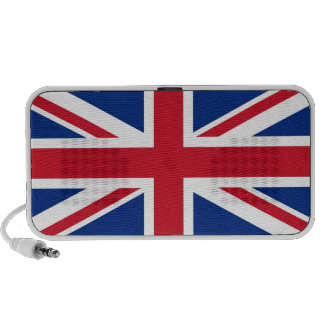 British - UK - Great Britain - Union Jack flag Notebook Speakers