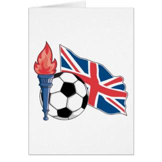 british UK soccer pride Card
