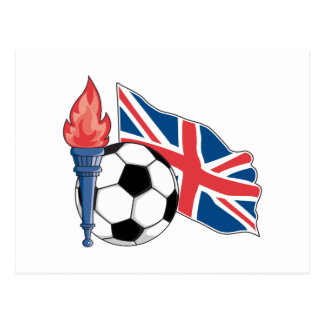 british UK soccer pride Postcard