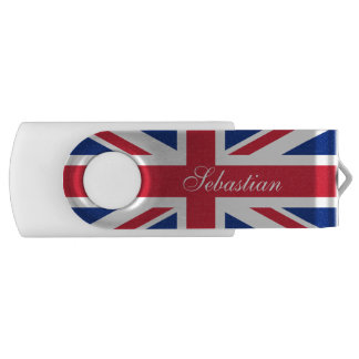 British UK United Kingdom Union Jack Flag USB Flash Drive