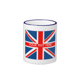 British Unio Jack Ringer Coffee Mug