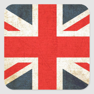 British Union Flag Stickers