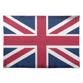 British Union Flag Union Jack Patriotic Design Cloth Placemat