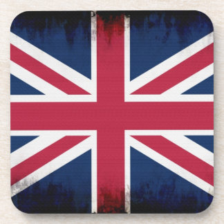 British Union Flag Union Jack Patriotic Design Coaster