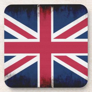British Union Flag Union Jack Patriotic Design Drink Coasters