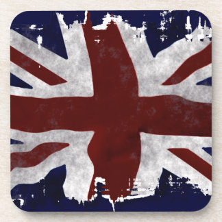 British Union Flag Union Jack Patriotic Design Drink Coaster