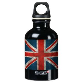 British Union Jack Aluminum Water Bottle