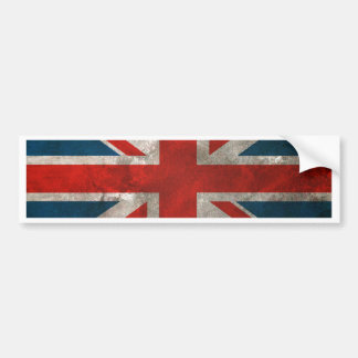 British Union Jack Bumper Sticker