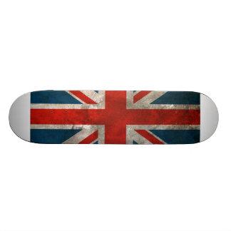 British Union Jack Custom Skate Board