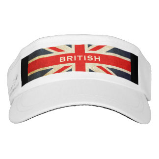 British Union Jack Custom Woven Visor