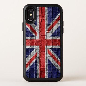 British Union Jack, Empire Flag England (mobile) OtterBox Symmetry iPhone XS Case